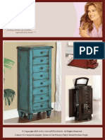 kathy ireland by East West Basics Wood Armoire Storage