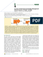 Capital and operating costs of full-scale fecal sludge management and wastewater treatment systems in Dakar, Senegal