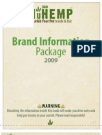 NuHemp Brand Information Package - Web Presentation