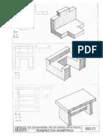 Desenho Técnico Isométricas