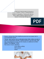 ebp power point presentation