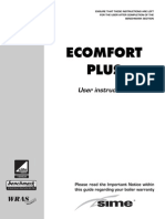 E-COMFORT PLUS Manual de Utilizare