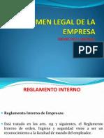 Regimen Legal de La Empresa