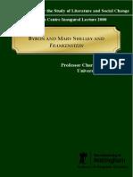robinson- frankenstein and prometheus