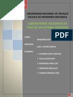 Informe Secuencia de Fase de un Sistema Trifásico