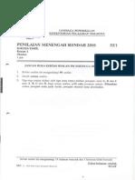 Pmr 2010 Bahasa Tamil Kertas 1