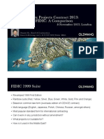 CIOB CPC2013 and FIDIC