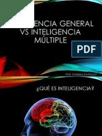 Clase 5 Inteligencia general Vs Inteligencia Múltiple