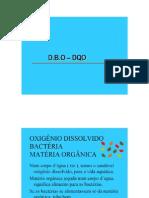Analise Dbo Dqo