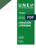 Programa Creacion Literia
