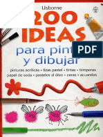 Parte a - 200 Ideas Para Pintar y Dibujar