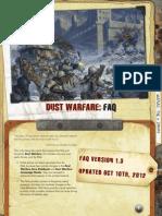 Dust Warfare FAQ 1.3