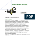 Equipamento Autônomo IBR FENIX