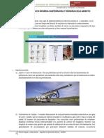 Asignación concentracion y tratamiento de minerales TRANSPORTE Y PERFORACIÓN