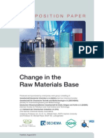 Change in the Raw Material Base - Dechema