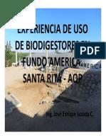 Experiencia Uso Bio Fundo America