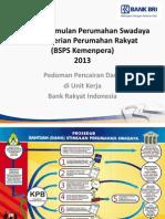 Pedoman Pencairan BSPS