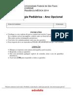 Ano Opcional Em Cancerologia Pediatrica Caderno