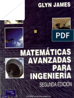 Matemáticas Avanzadas para Ingeniería - 2da Edición - Glyn James