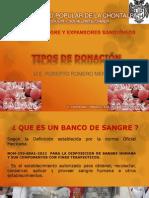 Tipos de Donacion