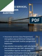 Assurance, Atestasi Dan Auditing
