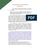 teoría ortográfica del español