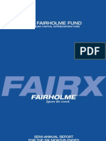 The Fairholme Fund, Semi-Annual Report 2009 (includes Bruce Berkowitz's Commentary)