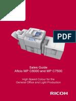 MP C6000 C7500 Ricoh Sales Handbook