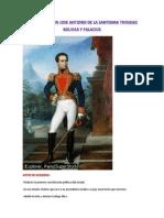 Mariscal Simon Jose Antonio de La Santisima Trinidad Bolivar y Palacios