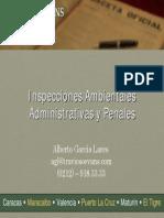 02 Inspecciones en Materia Ambiental y Seguridad y Salud en El Trabajo INSPECCIONES AMBIENTALES ADM PENALES