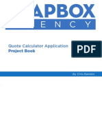 App Project Book Print