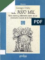Georges Duby - El año mil.pdf