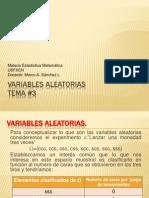 Tema 3 Variables Aleatorias