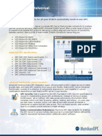 MatrikonOPC Server for SCADA UCS Datasheet