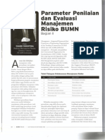 Christina (2013) Parameter Penilaian dan Evaluasi Manajemen Risiko (2) - BUMN Track, Sep 2013