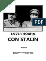 Enver Hoxa - Con Stalin