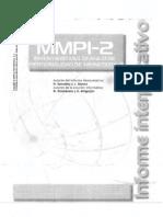 MMPI-2 Informe Interpretativo