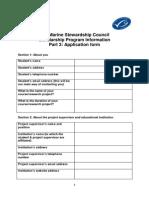 Part 3 Application form Msc Scholarhip.docx
