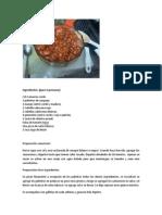 Ceviche Camarones