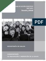 Programa Escuela Saludables