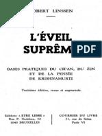 Robert Linssen - L'éveil suprême