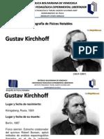Biografia Kirchhoff Gustav