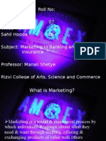 A Project On Marketing