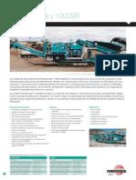 Powerscreen Crushing Brochure Spanish June 2011 1000 Maxtrak 10000sr