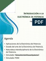Introducción a la electrónica de potencia