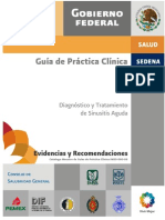 Sinusitis Imss Guia de Practica Clinica