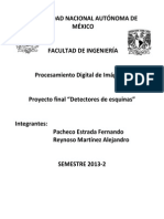 Proyecto Final Detectores de Esquinas