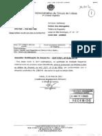 sentença OA exames 2013
