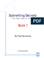 Subnetting Secrets Book 1
