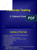 Penetrate Test